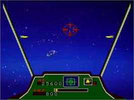 In game image of Cobra Command on the Laserdisc.