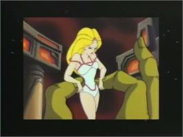 In game image of Esh's Aurunmilla on the Laserdisc.