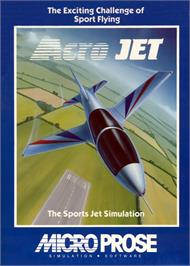 Box cover for Acrojet on the MSX.