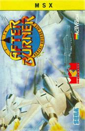 Box cover for After Burner on the MSX.