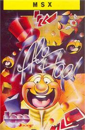 Box cover for Ale Hop on the MSX.