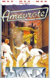 Box cover for Amaurote on the MSX.