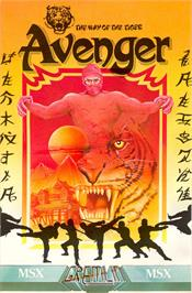 Box cover for Avenger on the MSX.