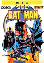 Box cover for Batman: The Movie on the MSX.