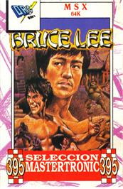 Box cover for Bruce Lee on the MSX.