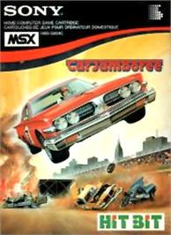 Box cover for Car Jamboree on the MSX.