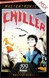 Box cover for Chiller on the MSX.