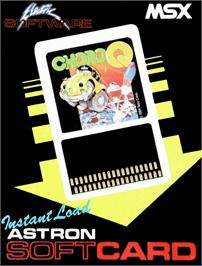 Box cover for Choro Q on the MSX.