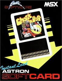 Box cover for Chuckie Egg on the MSX.