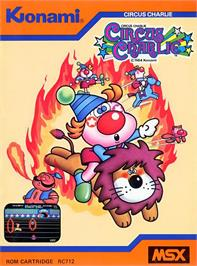 Box cover for Circus Charlie on the MSX.