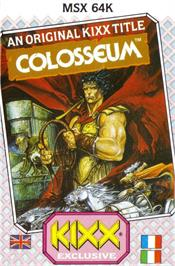 Box cover for Coliseum on the MSX.