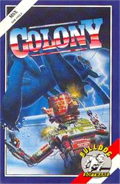 Box cover for Colony on the MSX.