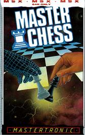 Box cover for Colossus 4 Chess on the MSX.