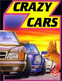 Box cover for Crazy Cars on the MSX.