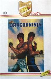 Box cover for Dragon World on the MSX.