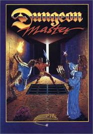 Box cover for Dungeon Hunter on the MSX.