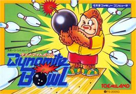 Box cover for Dynamite Bowl on the MSX.