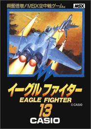 Box cover for Eagle Fighter on the MSX.