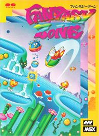 Box cover for Fantasy Zone on the MSX.