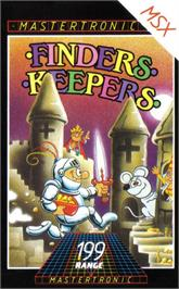 Box cover for Finders Keepers on the MSX.