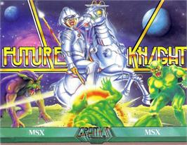 Box cover for Future Knight on the MSX.