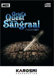 Box cover for Griel's Quest for the Sangraal on the MSX.