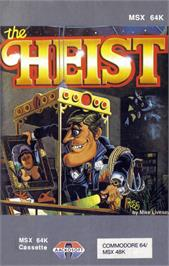 Box cover for Heist on the MSX.