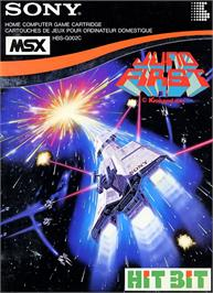 Box cover for Juno First on the MSX.