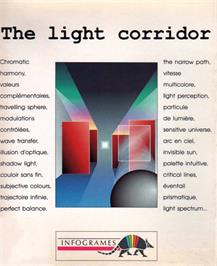 Box cover for Light Corridor on the MSX.
