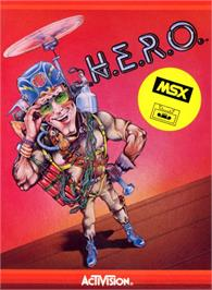 Box cover for MULE on the MSX.