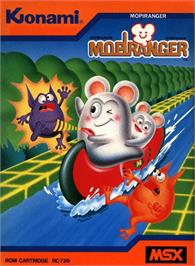 Box cover for Mopiranger on the MSX.