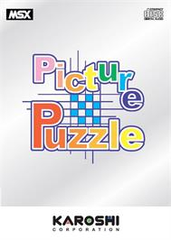 Box cover for Picture Puzzle on the MSX.
