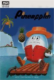 Box cover for Pine Applin on the MSX.