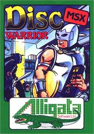 Box cover for Rad Warrior on the MSX.