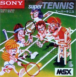 Box cover for Real Tennis on the MSX.