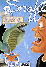 Box cover for Snake It on the MSX.