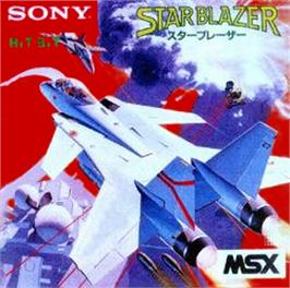 Box cover for Star Blazer on the MSX.