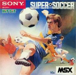 Box cover for Super Soccer on the MSX.