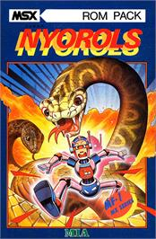 Box cover for Terrorpods on the MSX.