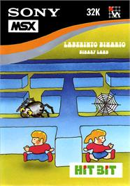 Box cover for Treasure Island on the MSX.