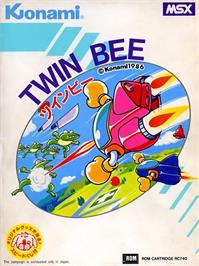 Box cover for TwinBee on the MSX.