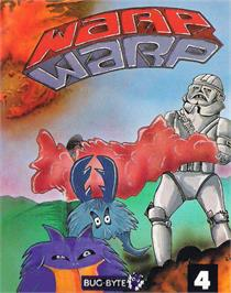 Box cover for Warp & Warp on the MSX.