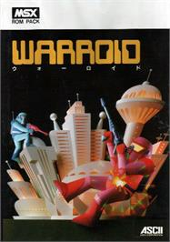 Box cover for Warroid on the MSX.