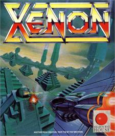 Box cover for Xenon on the MSX.
