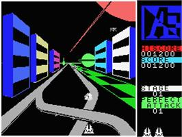 In game image of A.E. on the MSX.