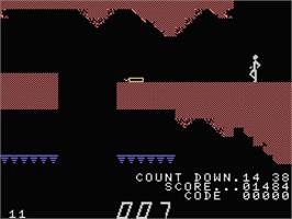 In game image of A View to a Kill on the MSX.