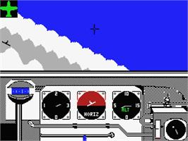 In game image of Ace of Aces on the MSX.