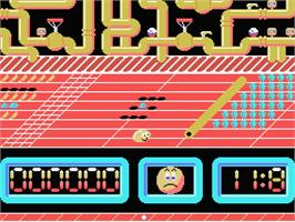 In game image of Ale Hop on the MSX.