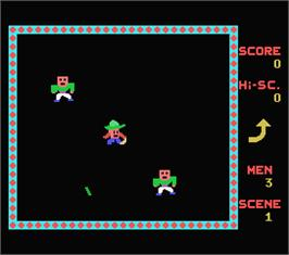 In game image of Boomerang on the MSX.