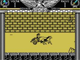 In game image of Coliseum on the MSX.